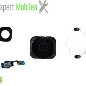 Bouton home complet  noir pour iPhone 5C garantie 1 An