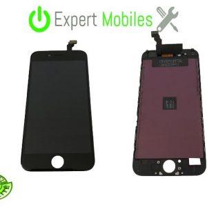 Écran de remplacement pour iPhone 6 noir 4.7 pouces garantie 1 An
