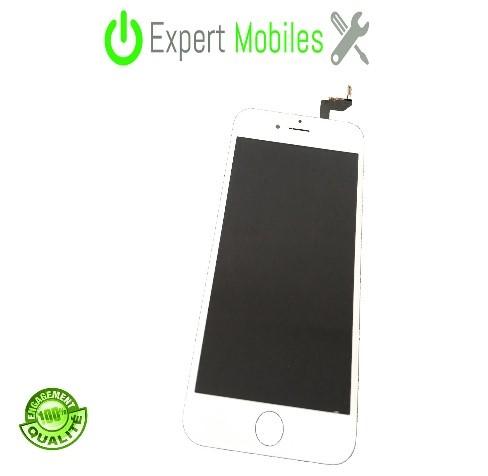 Ecran iphone 6s blanc 1 expert mobiles - Reparation telephone lorient ...