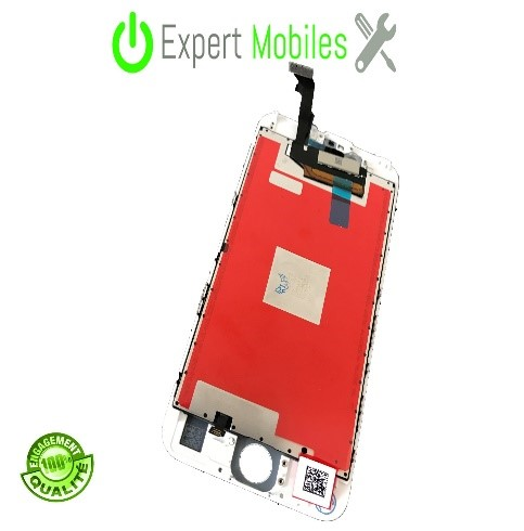 Ecran iphone 6s blanc 2 expert mobiles - Reparation telephone lorient ...