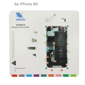 Repère magnétique pour iPhone 4S