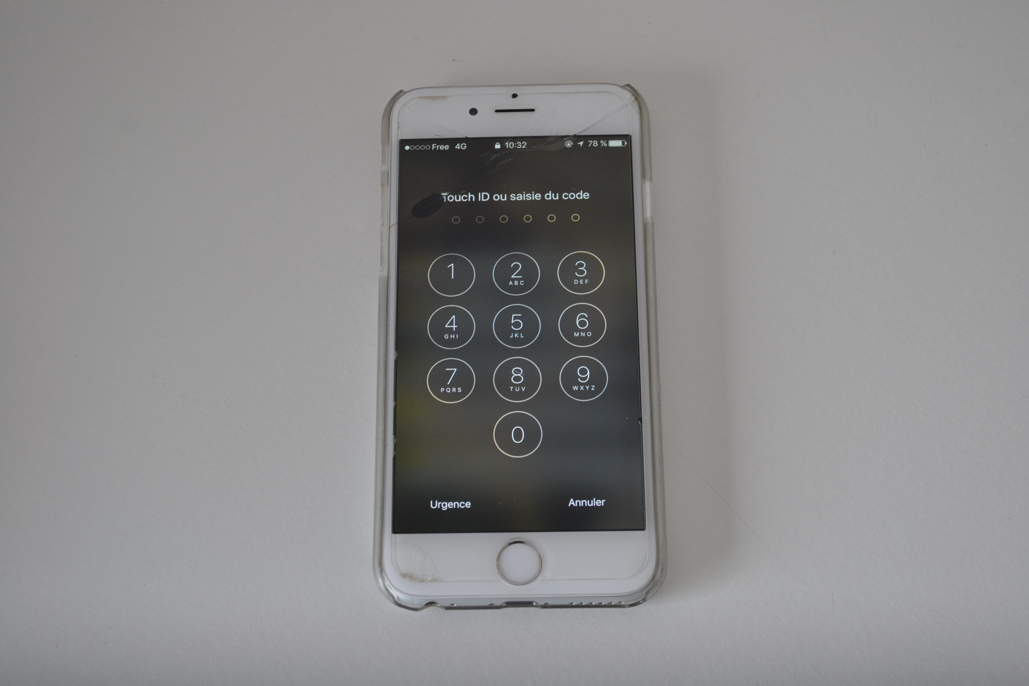 Remplacement d 39 un cran sur iphone 6 expert mobiles - Reparation telephone lorient ...