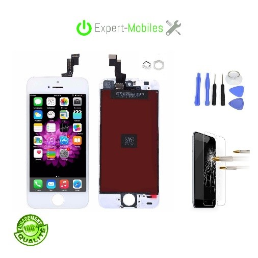 Ecran adaptable de remplacement pour iphone se blanc - Reparation telephone lorient ...