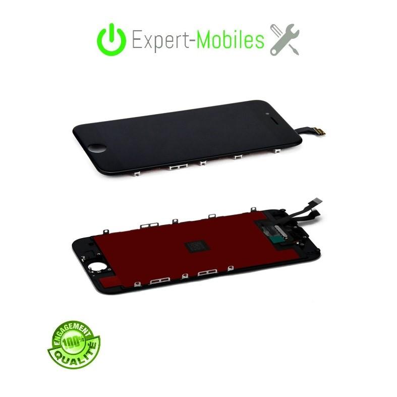 Ecran de remplacement pour 6 noir reconditionn 20170509 - Reparation telephone lorient ...