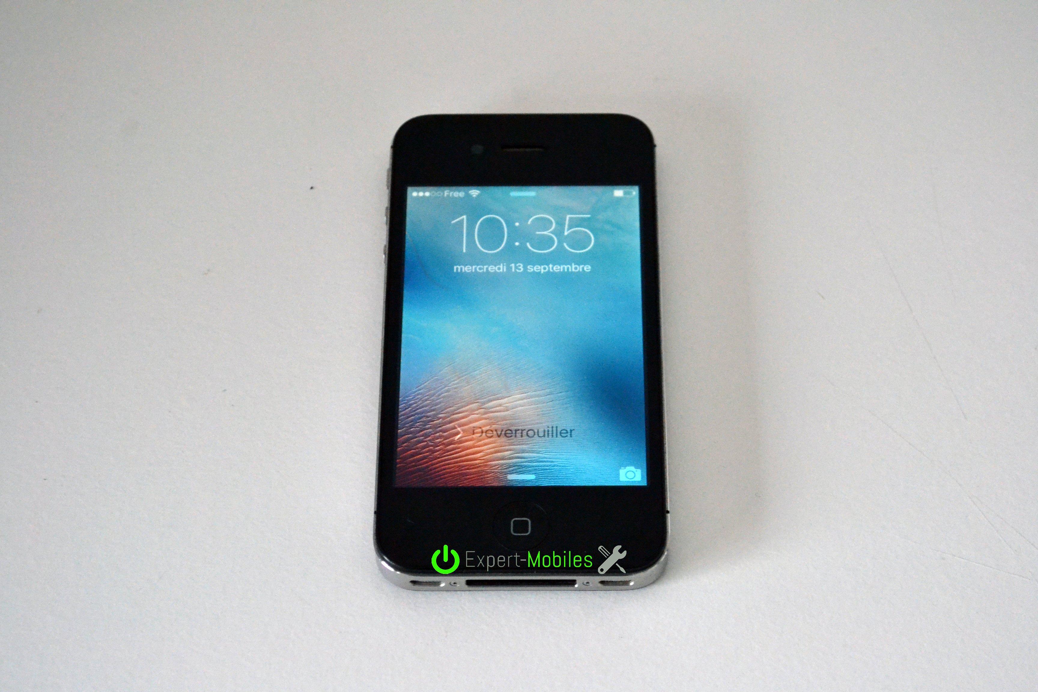Iphone 4s 16 go imei013187006690846 em 2 expert mobiles - Reparation telephone lorient ...