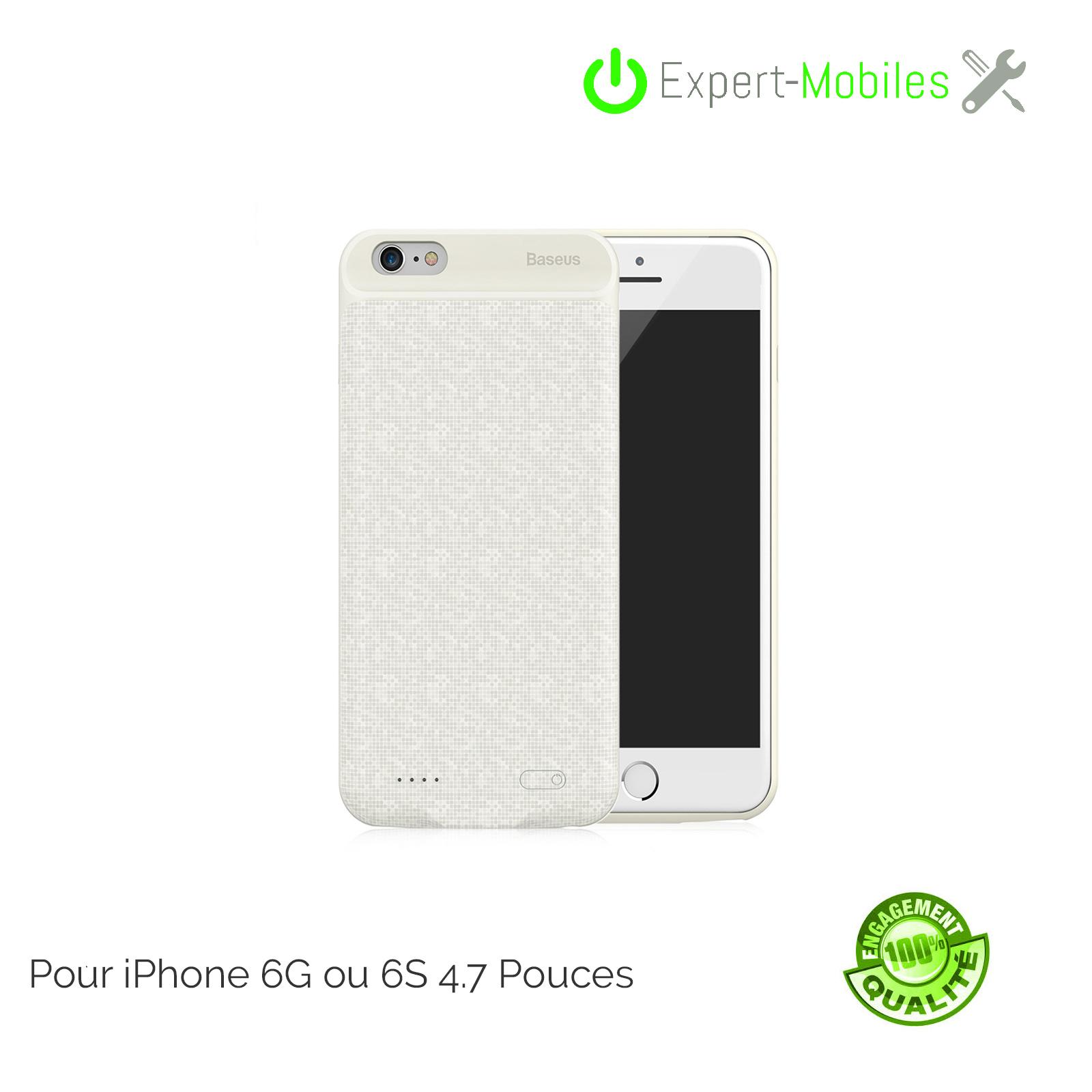 Coque chargeur baseus 2500 mah ivoire iphone 6g 6s 4 7 - Reparation telephone lorient ...