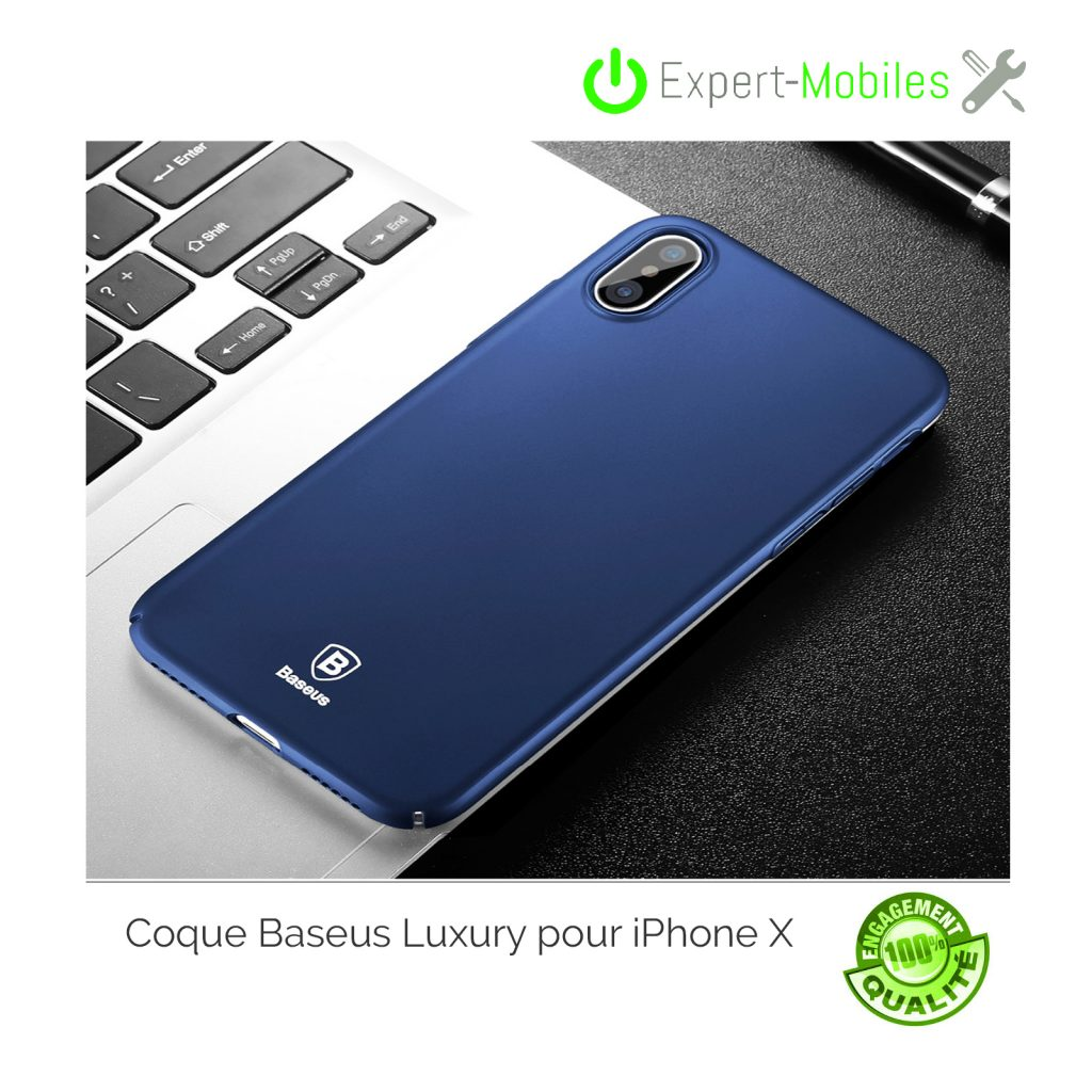 coque iphone x baseus luxe